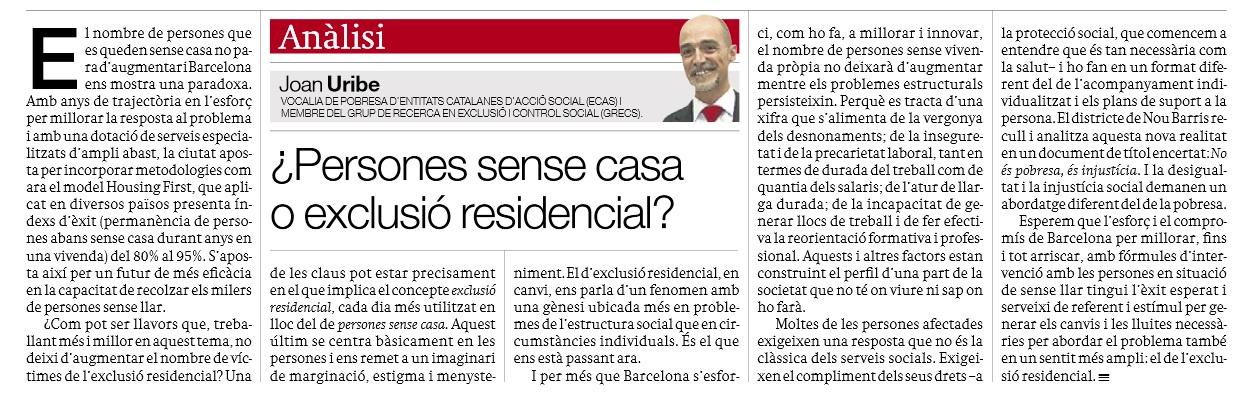20141204_sense casa o exclusio residencia_opi_Joan Uribe
