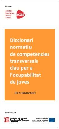 Portada diccionari per l'ocupabilitat de joves