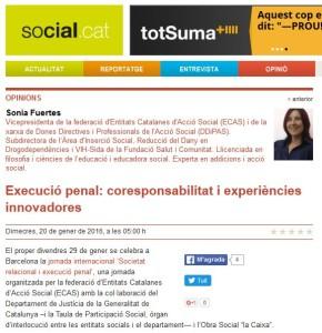 Article Sonia Fuertes Social.cat