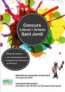 concurs literari Sant Jordi