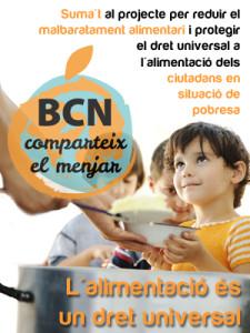 Barcelona Comparteix el Menjar, de Nutrició sense Fronteres
