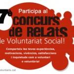 Concurs de relats de voluntariat social
