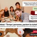 Jornada 'Temps i persones' #DecidimBarcelona