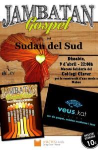 Concert solidari en cooperació amb el Sudan del Sud