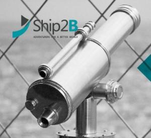 Cartell de Ship2B, empreses d'impacte social