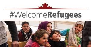 El refugiats són benvinguts, imatge de nens somrient