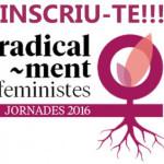 Logotip jornades feministes