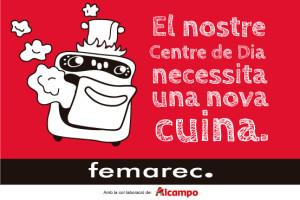 Centre de dia - campanya micromecenatge Femarec