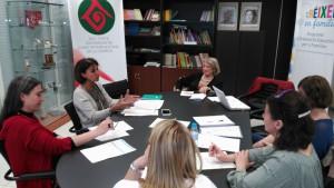 Reunió amb la Directora General de Famílies