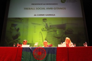 Taula de presentació del monogràfic de treball social amb gitanos