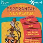 cartell de celebració dels concerts d'Esperanzah!