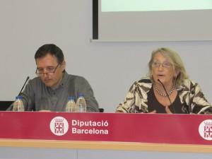 Teresa Crespo i Fernando Fantova durant la presentació