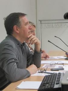Fernando Fantova durant la conferència marc