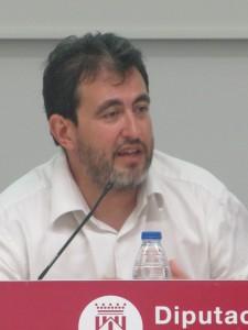 Pau Vidal, moderador de la taula rodona