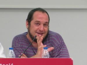 David Fernández, periodista i exdiputat de la CUP al Parlament de Catalunya