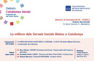Debat Catalunya Social - serveis socials