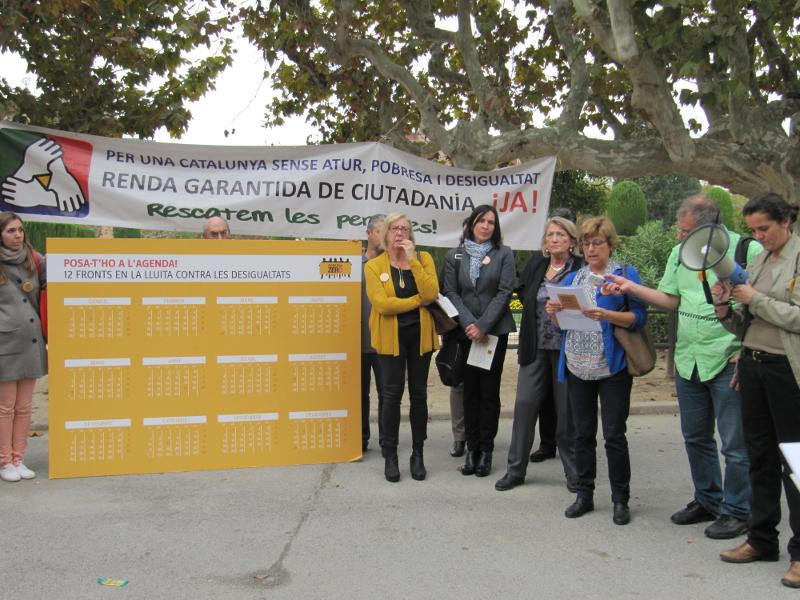 Pobresa Zero – Justícia Global reclama complir les mesures del ple d'emergència social amb celeritat i contundència