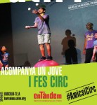 Projecte de circ social i mentoria d'AFEV