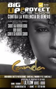 """Cartell concert solidari """"in via"""""""