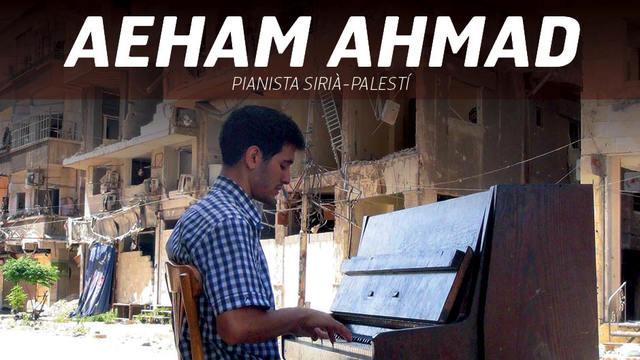 Micromecenatge per fer un concert d'Aeham Ahmad, el pianista del camp de refugiats de Yarmouk