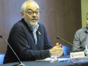 Òscar Rebollo, director del Servei d'Acció Comunitària de la Gerència Drets de la ciutadania, participació i transparència de l'Ajuntament de Barcelona