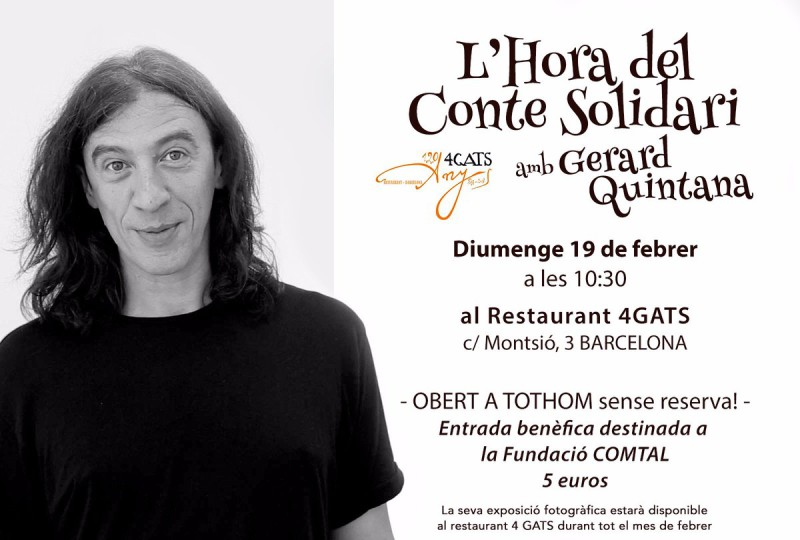 L'hora del conte solidari amb Gerard Quintana, 19 de febrer