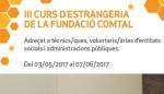 III Curs d'estrangeria de la Fundació Comtal