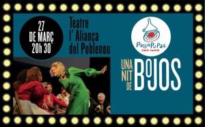 'Una nit de bojos' teatre social Pallapupas