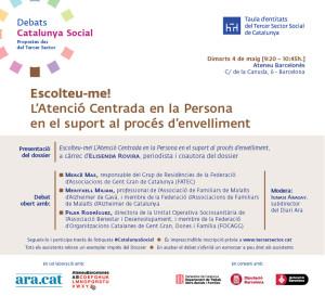 Debat Catalunya social 'Escolteu-me!'