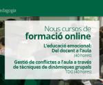 Cursos de formació online de la Fundació SER.GI