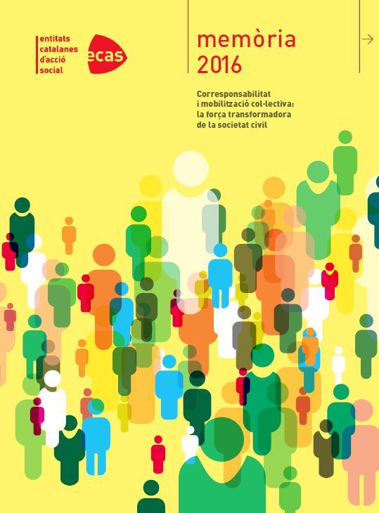 Memòria d'ECAS 2016: 'Corresponsabilitat i mobilització col·lectiva, la força transformadora de la societat civil'