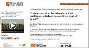 Forum Social Pere Tarrés