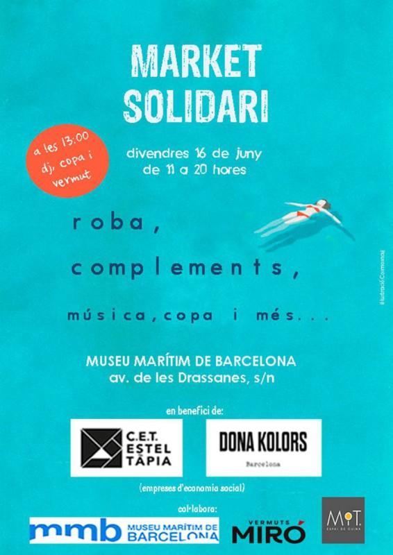 Market solidari en benefici de Dona Kolors i Estel Tàpia, 16 de juny