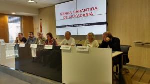 Presentació de l'acord en roda de premsa el 15 de maig.