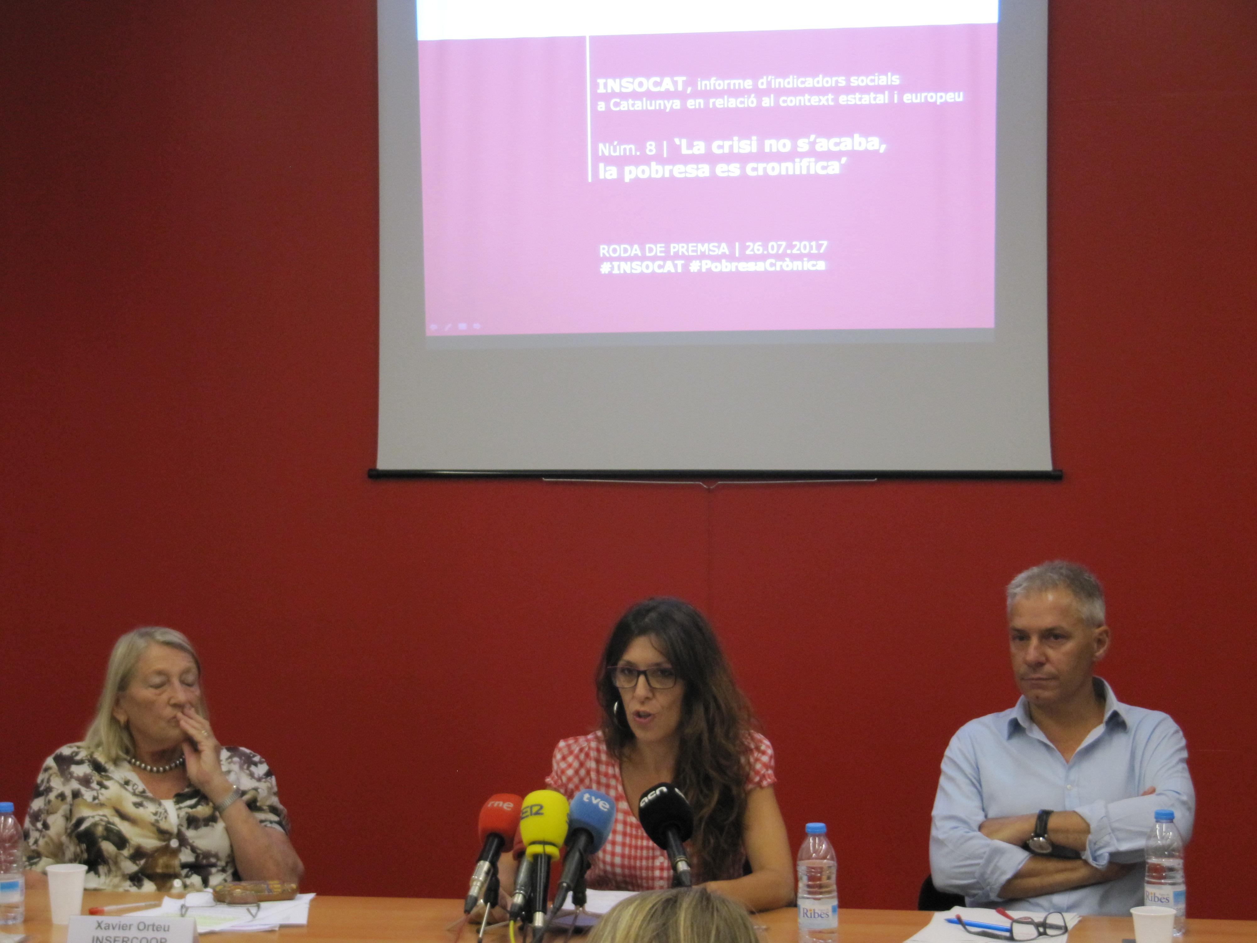 INSOCAT 8: Malgrat l'increment dels ingressos mitjans, la pobresa es cronifica per a gairebé una cinquena part de la població catalana