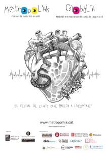 Cartell Festival de curtmetratges MetropoL'His
