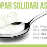 Cartell II Sopar Solidari ASSÍS Centre d'Acollida