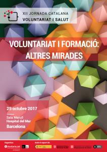 Cartell XII Jornada Voluntariat i salut