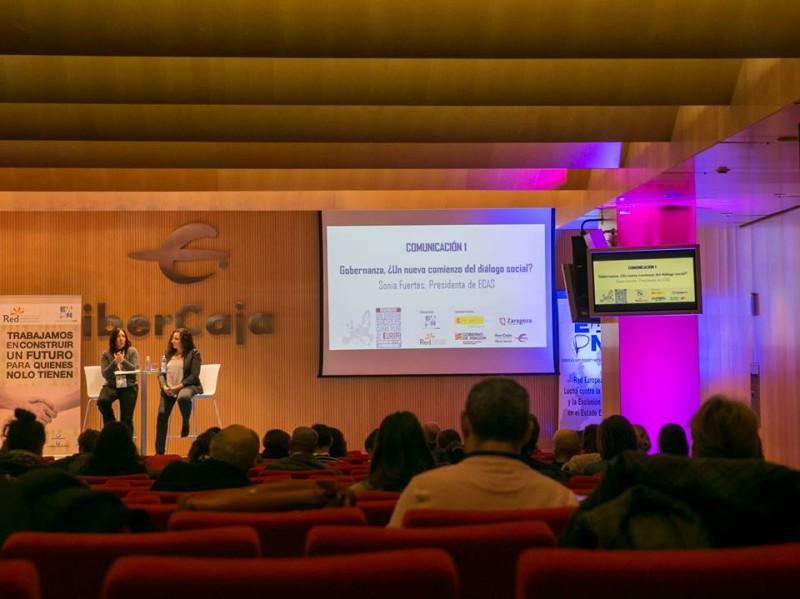 Participació d'ECAS al seminari anual d'EAPN España