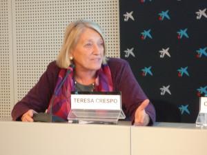Teresa Crespo, vocal de Pobresa d'ECAS.