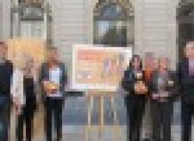Triple multitudinari contra la pobresa a Barcelona