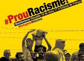 Manifestació #ProuRacisme!, 19 de març
