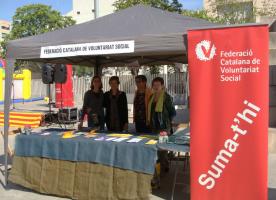 Setmana del voluntariat a Girona del 4 al 9 d'abril