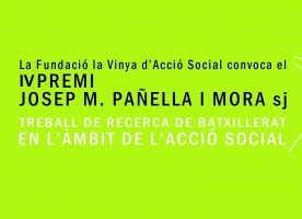 Lliurament del premi Josep M. Pañella i Mora de la Fundació la Vinya, 17 de novembre