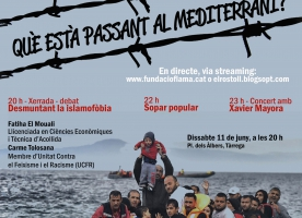 Xerrada-debat 'Desmuntant la islamofòbia', 11 de juny