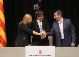 La Taula del Tercer Sector i el Govern signen un Pacte per enfortir el paper de les entitats socials en la sortida de la crisi