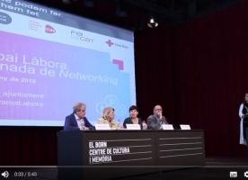Vídeo de la 2a jornada de networking 'Espai Làbora'