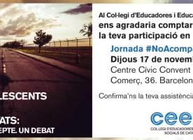 Jornada del CEESC sobre infants i adolescents estrangers no acompanyats, 17 de novembre