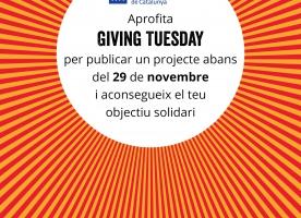 Presentació de projectes al #GivingTuesday per al 29 de novembre