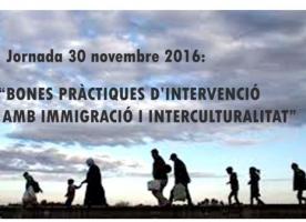 Jornada 'Bones pràctiques d'intervenció amb immigració i interculturalitat', 30 de novembre